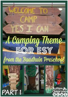 A Camping Theme for ESY from the Baudhuin Preschool: Camp Yes I Can. - Autism Classroom Resources