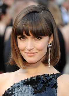 images of cute hairstyles   Cute short pageboy hairstyle from Rose Byrne   Hairstyles Weekly