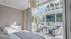 Karen Howes was commissioned to fit out a former Quaker hospital in Donnybrook Divider, Touch, Fit, Interior, Room, Furniture, Home Decor, Style, Bedroom