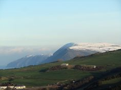 Sun, snow and sand? Looking east from Hillsborough, Ilfracombe