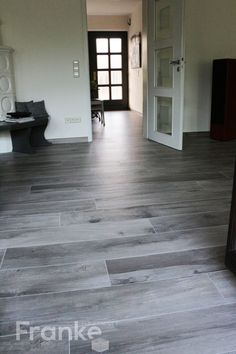 Plank format 20 × 120 or 20 × 170 cm # plank format # tiles . 20 × 120 or 20 × 170 cm plank format tiles # Plank format tiles – bathroom ideas – tile Wood Plank Tile, Wood Planks, Hardwood Floors In Bathroom, Wood Bathroom, Bathroom Ideas, Tiled Hallway, Floor Decal, White Rooms, Hearth