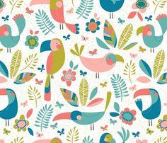 Spoonflower Fabric of the week voting: Islands