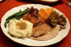 Pavo al horno al estilo Thankgiving receta especial del día de Acción de Gracia en America