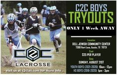 Registration open for @c2clax Austin boys' tryouts on Aug. 21 - http://toplaxrecruits.com/registration-open-c2clax-austin-boys-tryouts-aug-21/