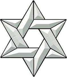 Star of David Bevel Cluster