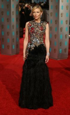 Cate Blanchett   Voici les célébrités qui ont assisté à la cérémonie des BAFTAs 2016