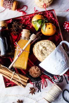 Coziest Homemade Hot Toddy Kit for the holidays Cute Christmas Gifts, Christmas Gift Baskets, Christmas Cookies, Holiday Gifts, Christmas Christmas, Xmas, Tea Gifts, Food Gifts, Craft Gifts