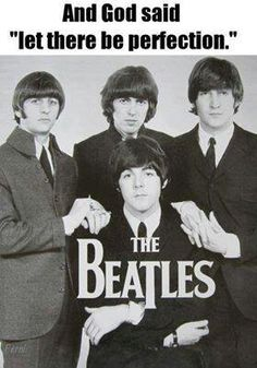 They were the perfect band.