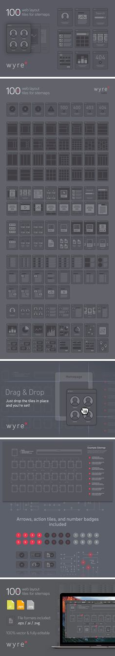 Free Website Flowchart Template – Wyre