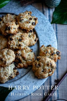 Harry Potter Hagrid's Rock Cakes recipe SQ - mexican Cuisine Harry Potter Desserts, Harry Potter Treats, Harry Potter Food, Harry Potter Recipes, Best Cake Recipes, Sweet Recipes, Yummy Recipes, Favorite Recipes, Recipes