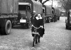 prepsterride:  Nun riding solex