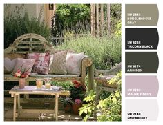 """""""So Peaceful!!""""  Paint colors from Chip It! by Sherwin-Williams"""