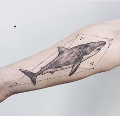 #shark #tattoo More