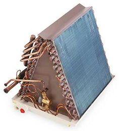 How to Clean AC Evaporator Coils, A-Frame Evaporator Coil