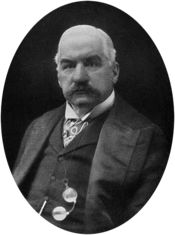 J. P. Morgan was a ruthless capitalist and financier and one of the most powerful men in US history.  He had enough wealth to buy every state west of the Mississippi River. He personally saved the United States Government from insolvency not once but twice, & infused the gov't with 3.5 million ounces of gold in 1893. In both cases he made a huge profit. He was known as a humorless genius. 1 word from him could make/break reputations. He formed General Electric, US Steel & owned the Titanic.
