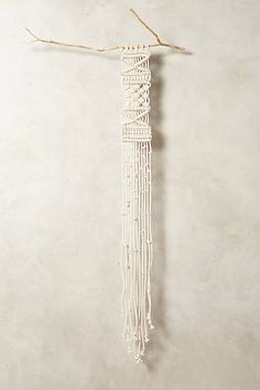 Anthropologie Large Macrame Tapestry #anthrofav #greigedesign