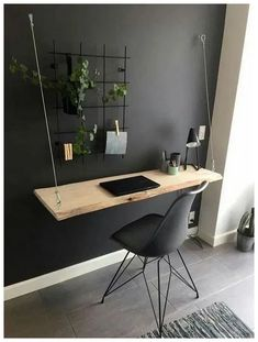 37 modern DIY computer desk ideas for your home office Jessica Paster - 37 mod . - 37 Modern DIY Computer Desk Ideas For Your Home Office Jessica Paster – 37 Modern DIY Computer De - Interior Design Photos, Office Interior Design, Home Office Decor, Office Interiors, Diy Home Decor Bedroom, Bedroom Office, Decor Room, Bedroom Ideas, At Home Office Ideas