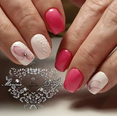 These nail designs are actually as simple as they are awesome. For anybody who is always trying to find creative ideas and new designs, nail art designs are a good way to display your personality and to be original. Love Nails, Fun Nails, Pretty Nails, Local Nail Salons, Bright Nail Art, No Chip Nails, Plaid Nails, Cute Nail Art Designs, Modern Nails