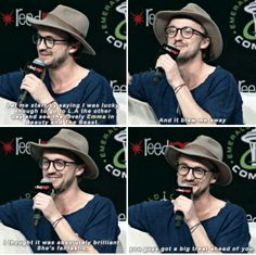 Tom Felton on Beauty and The Beast (2017) and Emma Watson.