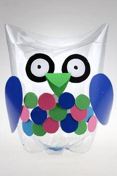 Поделка из пластиковой бутылки для детей