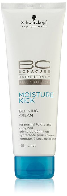 Schwarzkopf BC Moisture Kick Defining Cream (For Normal to Dry and Curly Hair) 125ml/4.2oz *** This is an Amazon Affiliate link. Learn more by visiting the image link.