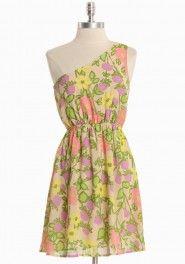pretty pastel floral dress