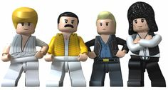 images of lego rock stars | Queen LEGO Rock Band | This is too cool!!