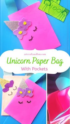 Do you love easy crafts? Do you want to keep your kids busy? Learn how to make a magical DIY Unicorn Paper Bag For some fun. Perfect for pretend play and unicorn parties. Craft Activities For Kids, Crafts For Kids, Felt Glue, Paper Bag Crafts, Unicorn Crafts, Popsicle Stick Crafts, How To Make Diy, Diy For Girls, Business For Kids