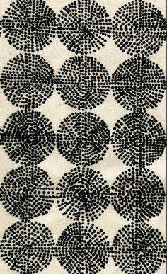 luli sanchez bw black and white pattern dots-rounds Pattern Texture, Surface Pattern Design, Pattern Art, Abstract Pattern, Motifs Textiles, Textile Patterns, Textile Prints, Textile Design, Pretty Patterns