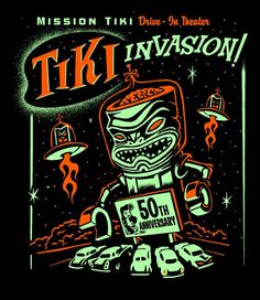 Mission Tiki Drive-In Theater :: Montclair, CA