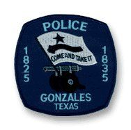 Gonzales police patch Texas