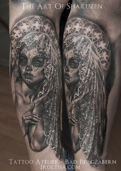 Tattoo-Foto: La Catrina