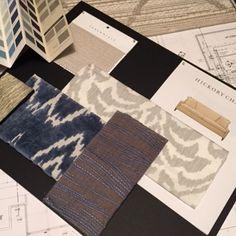 Scheming.   #sittingroom #remodel #roombyroom #design #interiordesign #interiors #residentialdesign #styleboard #inspiration #moodboard #dcdesign #bethesdamd #fabrics #textiles