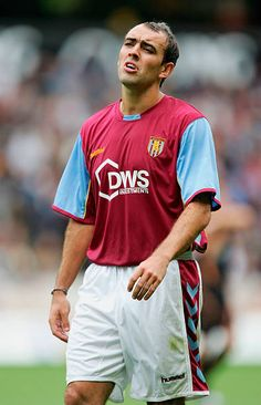 Portrait Of Martin Carruthers Of Aston Villa During A Photocall At