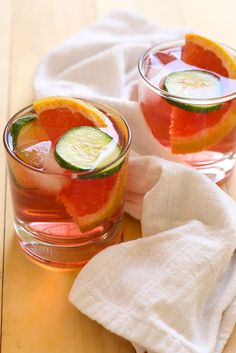 Hibiscus Gin and Tonics - The Girl on Bloor