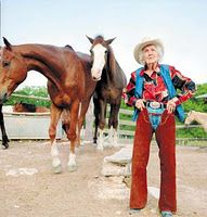 "At 101 years old, Connie Reeves was still riding her horse every day. She was a huge inspiration to many people. Her health was great and her mind was sharp. Someone once asked her what her secret to longevity was. She said, ""Well Honey, you just don't let that rocking chair take over…you get up and go even if you don't want to."""
