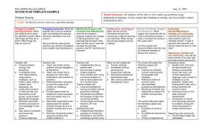Accountable listening acrostic accountable talk pinterest for Accountable plan template