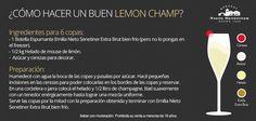 ¿Cómo hacer un buen lemon champ?