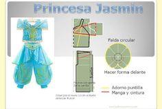 Princesa Jazmin DIY. Tema 159