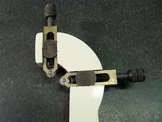 Ball bearing pads for  lathe follow rest