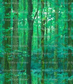 Forest For The Trees ~ Watercolor custom fabric by peacoquettedesigns for sale on Spoonflower Watercolor Trees, Shower Curtains, Custom Fabric, Spoonflower, Quilts, Design, Quilt Sets, Log Cabin Quilts, Quilt