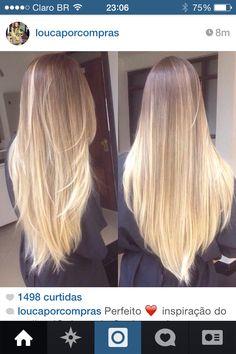 Cabelo Hair Blonde Loiro