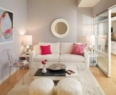 This week, we found some small living rooms with big style that will inspire. We just had to share these beautiful small living room designs. Living Room Ideas Uk, Living Room New York, Small Living Room Furniture, Small Space Living Room, Small Room Decor, Simple Living Room, Living Room Colors, Small Rooms, Interior Design Living Room
