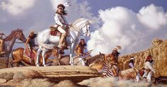 Land Of The Apache by David Nordahl