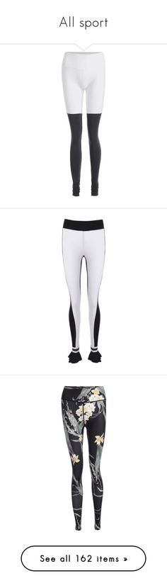 """""""All sport"""" by zaful ❤ liked on Polyvore featuring pants, leggings, activewear, activewear pants, sports bras, tops, sweaters, stripe top, rib sweater and ribbed top"""