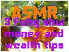 ASMR 3 Feng Shui Money and Wealth Tips http://www.youtube.com/watch?v=B3pf1PpnepQ