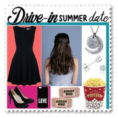 """Drive-In Summer Date"" by arithegeek11 ❤ liked on Polyvore featuring Oasis, West Bend, Givenchy, Amanda Rose Collection, DateNight, drivein and summerdate"
