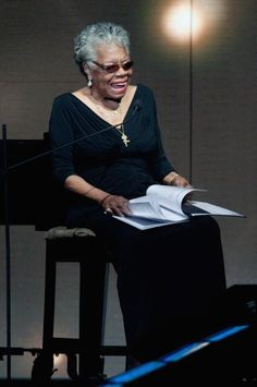 Maya Angelou ~~ old soul....young heart May she rest in peace. You'll be missed you sweet angel