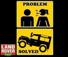 Solved. #LandRover