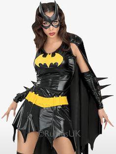 Batgirl - Erwachsenenkostüm Fancy Dress